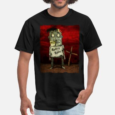 George Romero George Romero Zombie Fan - Men's T-Shirt