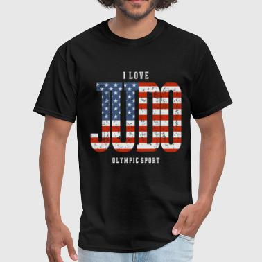 I Love Judo USA - Men's T-Shirt