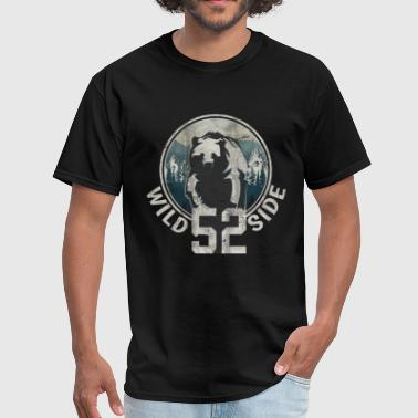 Side Bear Wild Side Mountain Bear - Men's T-Shirt