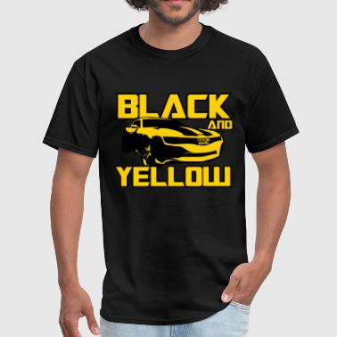 Black And Yellow Black And Yellow Bumblebee - Men's T-Shirt