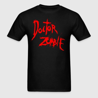 DOCTOR ZOMBIE LOGO  RED - Men's T-Shirt