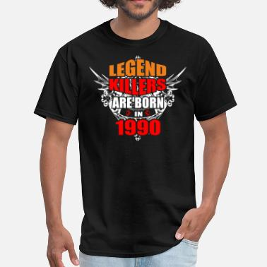 Legend Killers Legend Killers are Born in 1990 - Men's T-Shirt