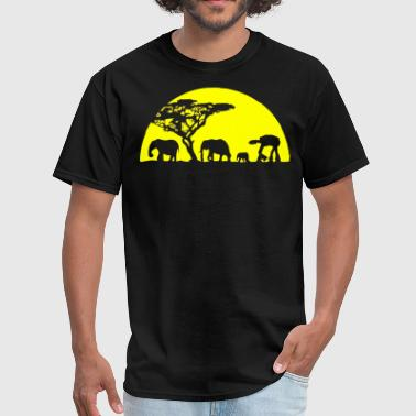 AT-AT Far From Home - Men's T-Shirt