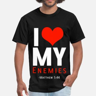 Enemies I Heart Enemies (W) - Men's T-Shirt