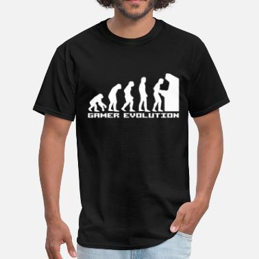 Evolution Gamer Gamer Evolution - Men's T-Shirt
