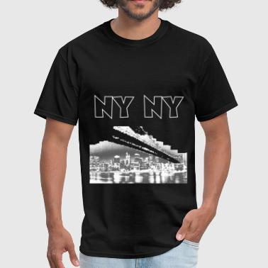 NY NY - Men's T-Shirt