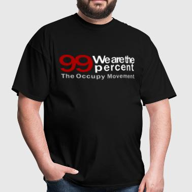 We are the 99 percent black - Men's T-Shirt