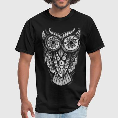 the owl totem - Men's T-Shirt