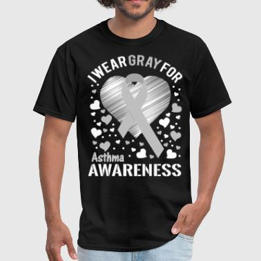 Asthma Awareness - Men's T-Shirt