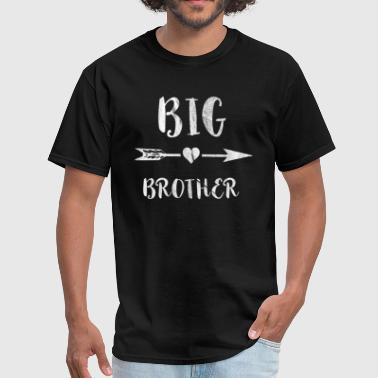 Big Arrow Big Brother Arrow Heart - Men's T-Shirt