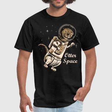 Voyage Space otter shirt for cute otter ferret lovers - Men's T-Shirt