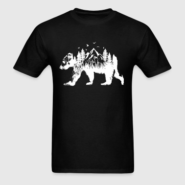 Bear woods - Men's T-Shirt