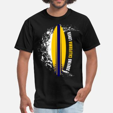 9a762d053 California Surfing Surfing California Lover - Men's T-Shirt