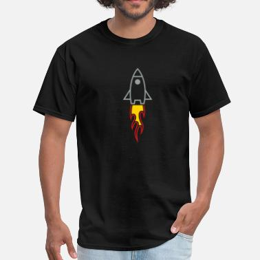 Houston Rockets Rocket - Men's T-Shirt