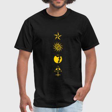 Zen Alien STAR SUN LIGHTNING MAN 2 - Men's T-Shirt