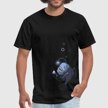 Underwater Book Light (Men's Lightweight Tee) - Men's T-Shirt