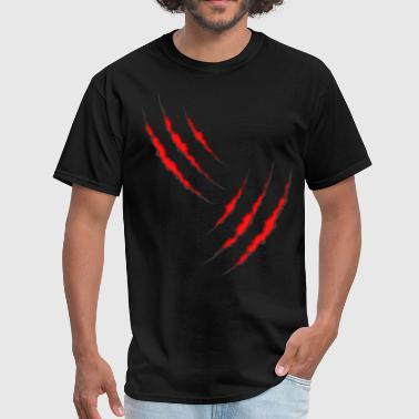 Marks Claw Mark - Men's T-Shirt