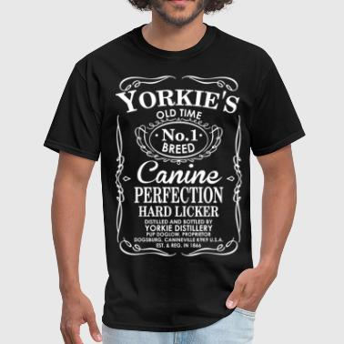 Yorkies Dog Old Time No1 Breed Canine Perfection - Men's T-Shirt