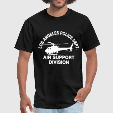 LAPD Los Angeles Police Air Support Division Helic - Men's T-Shirt