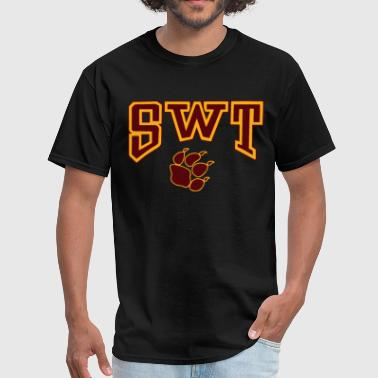 Texas Trill New Southwest Texas State University SWT Texas - Men's T-Shirt