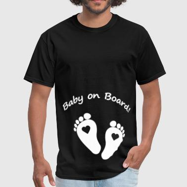 Week Pregnancy BABY ON BOARD pregnancy - Men's T-Shirt