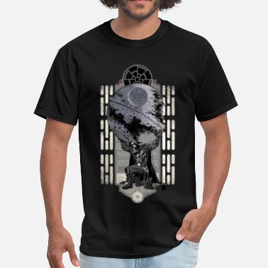 Buy Funny star wars darth vader and the death star - Men's T-Shirt
