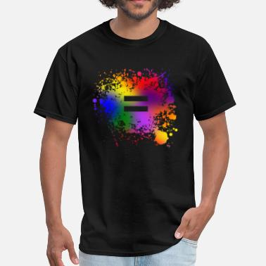 Gay Pride Equality Ink - Men's T-Shirt
