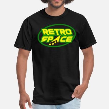 Retro Space Retro Space Arcade GRN - Men's T-Shirt