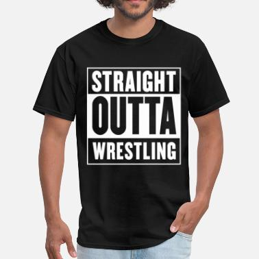 Wwe Straight outta Wrestling - Straight Outta Compton - Men's T-Shirt