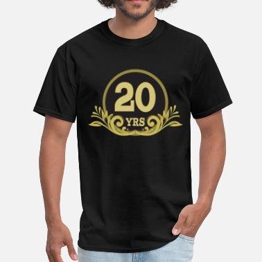 20th Anniversary 20th Anniversary Couples Gift - Men's T-Shirt