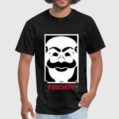 fsociety mr robot s02 - Men's T-Shirt