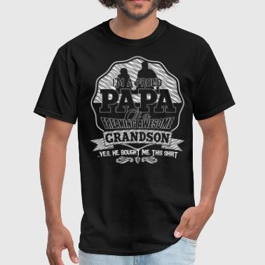 A Freaking Awesome Grandson T Shirt - Men's T-Shirt