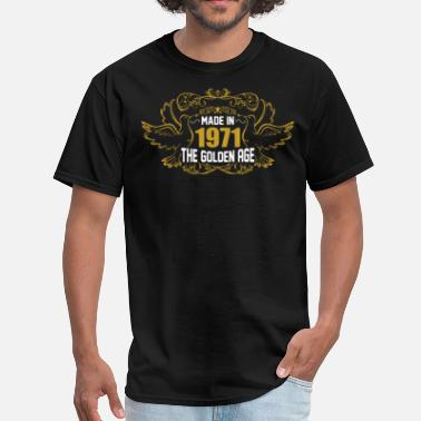 1971 Aged Made in 1971 The Golden Age - Men's T-Shirt