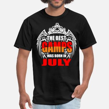 Gamps The Best Gamps was Born in July - Men's T-Shirt