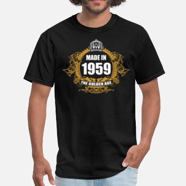 1959 Aged To Made in 1959 The Golden Age - Men's T-Shirt