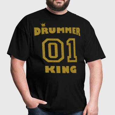 Drums - Drummer King gold - Men's T-Shirt