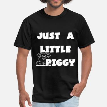 Slut Bear 0212 - Lil Piggy - Men's T-Shirt