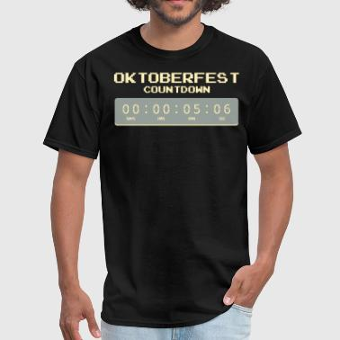 Oktoberfest Countdown T-Shirt Gift Idea - Men's T-Shirt