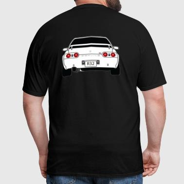 Skyline R32 Back - Men's T-Shirt