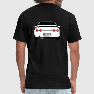 Skyline Skyline R32 Back - Men's T-Shirt