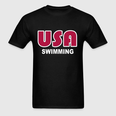 USA swimming - Men's T-Shirt