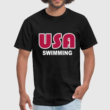 Usa Swimming USA swimming - Men's T-Shirt
