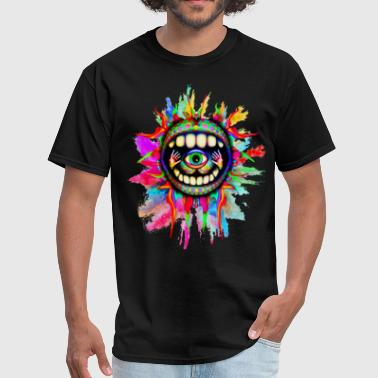 psychodelic design - Men's T-Shirt