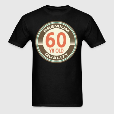 60th Birthday Vintage Style Gift - Men's T-Shirt