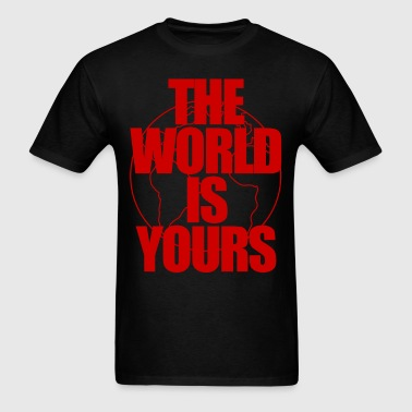 The World Is Yours - Men's T-Shirt