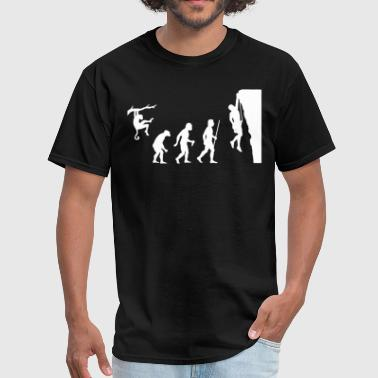 Evolution Rock Climbing - Men's T-Shirt