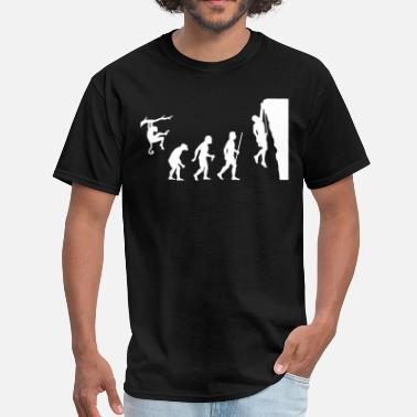 Rock Climbing Evolution Evolution Rock Climbing - Men's T-Shirt
