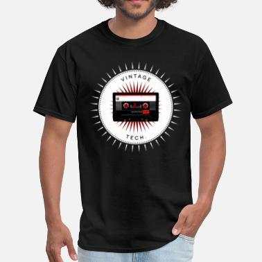 8b9d7c2e75b1 Geek Vintage icons 06 - Audio cassette - Men's T-Shirt