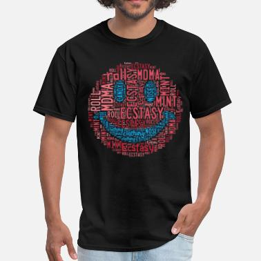 Mdma Hello Molly - Men's T-Shirt