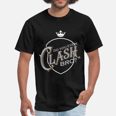 Clash Clash Bro - Men's T-Shirt